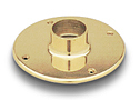 Brass Tube Floor Flange